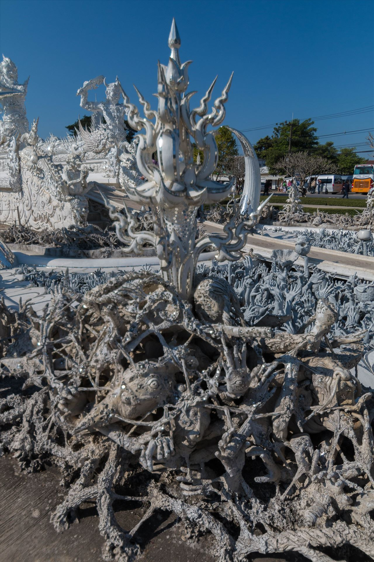Wat Rong Khun 2 -  by AnnetteJohnsonPhotography