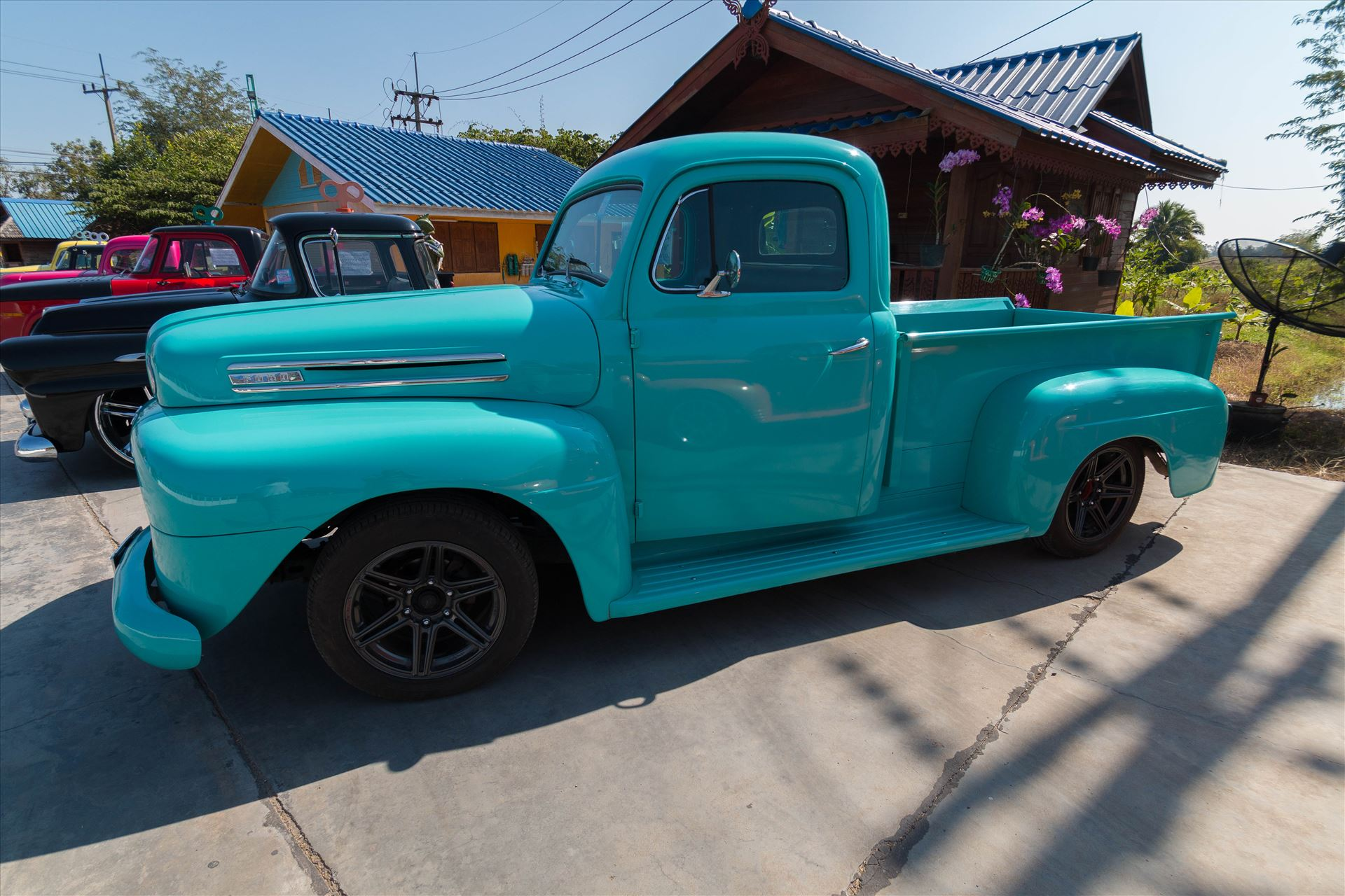 1948 Ford F-1 Pickup -  by AnnetteJohnsonPhotography