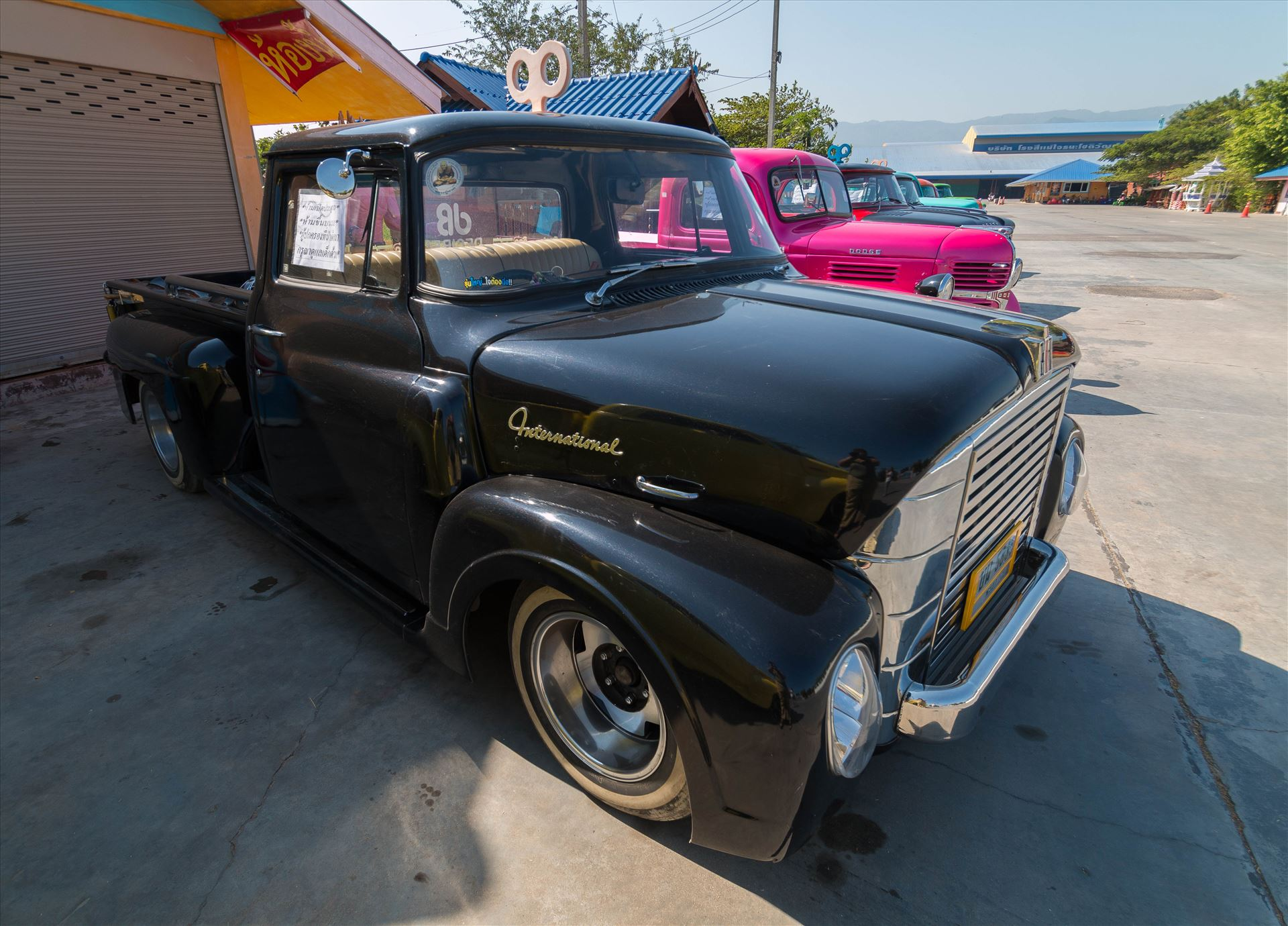 1957  INTERNATIONAL A110 SHORT BED STEPSIDE PICK UP TRUCK -  by AnnetteJohnsonPhotography