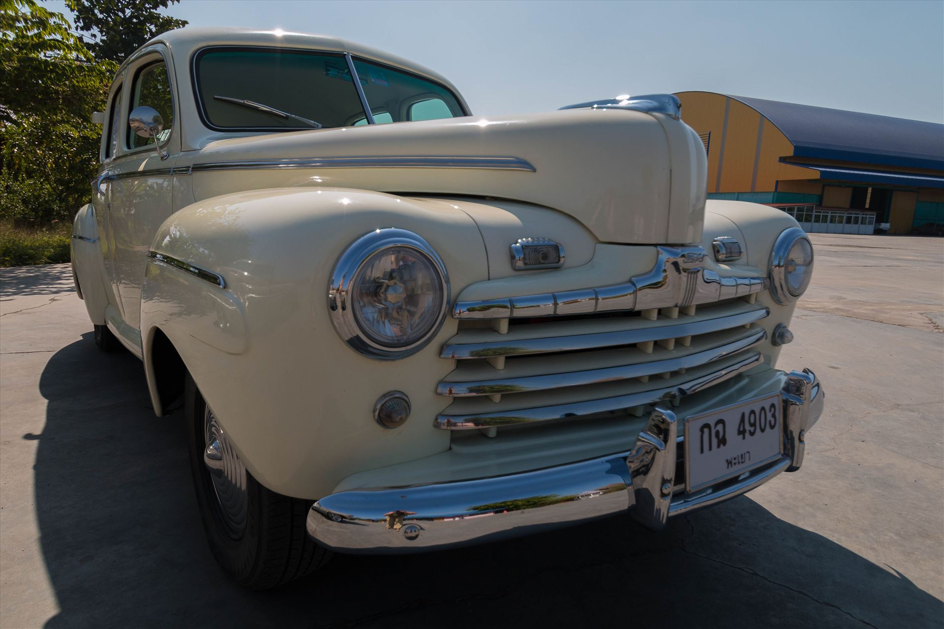 1946 Ford Sedan -  by AnnetteJohnsonPhotography