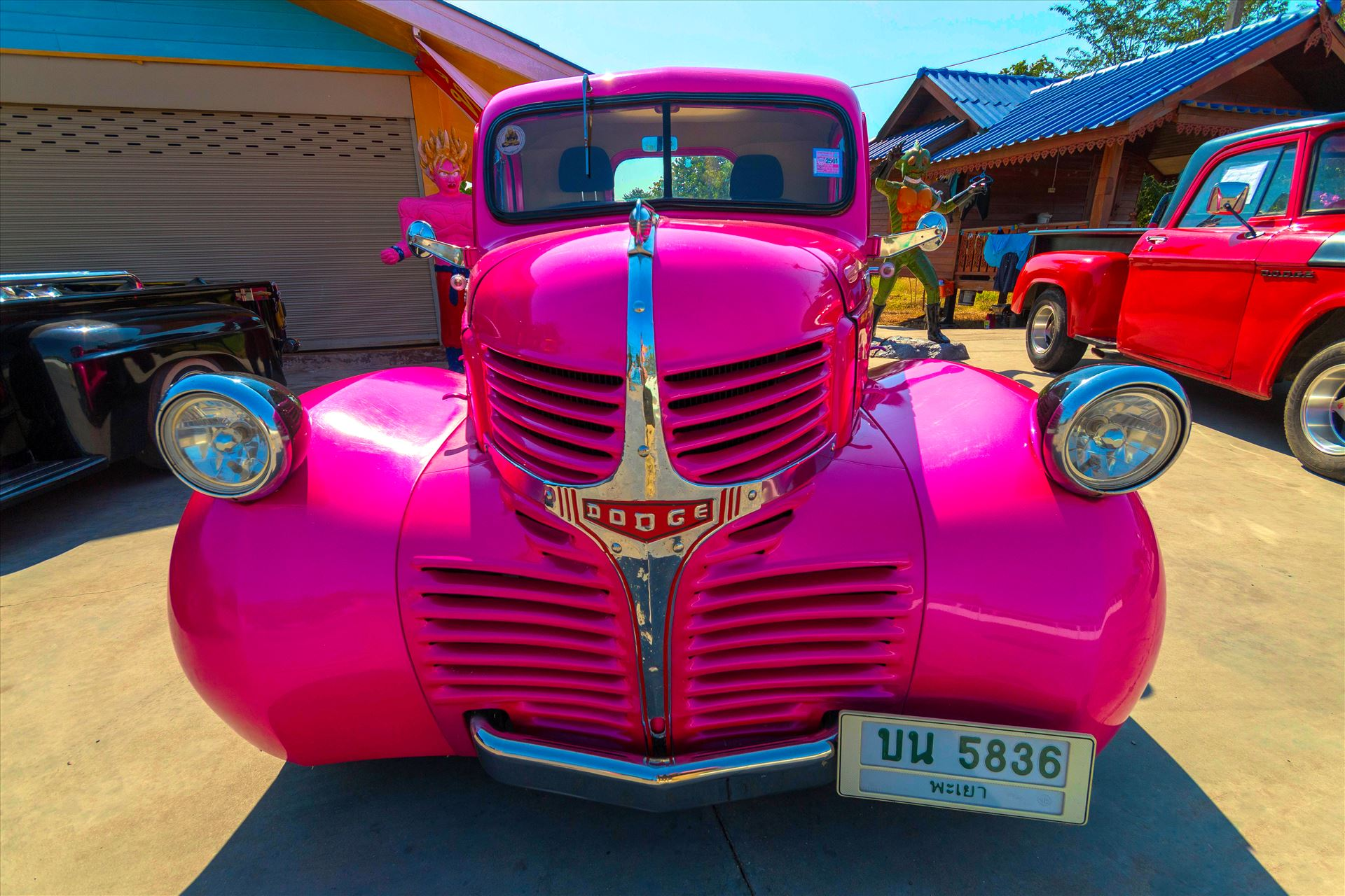 1941 Dodge WC (Civilian) half-ton pickup -  by AnnetteJohnsonPhotography